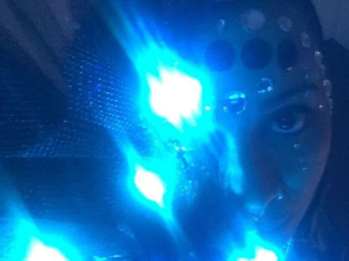 Sound-Activated Light Suit